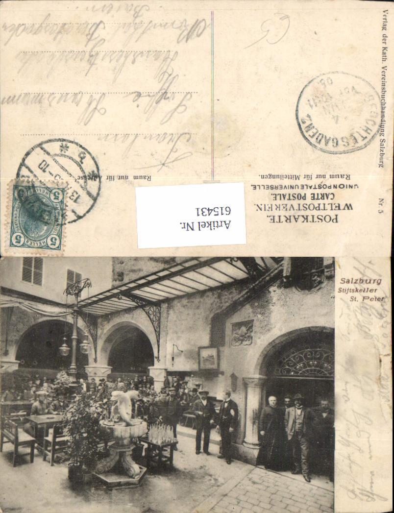 615431,Salzburg St. Peter Stiftskeller