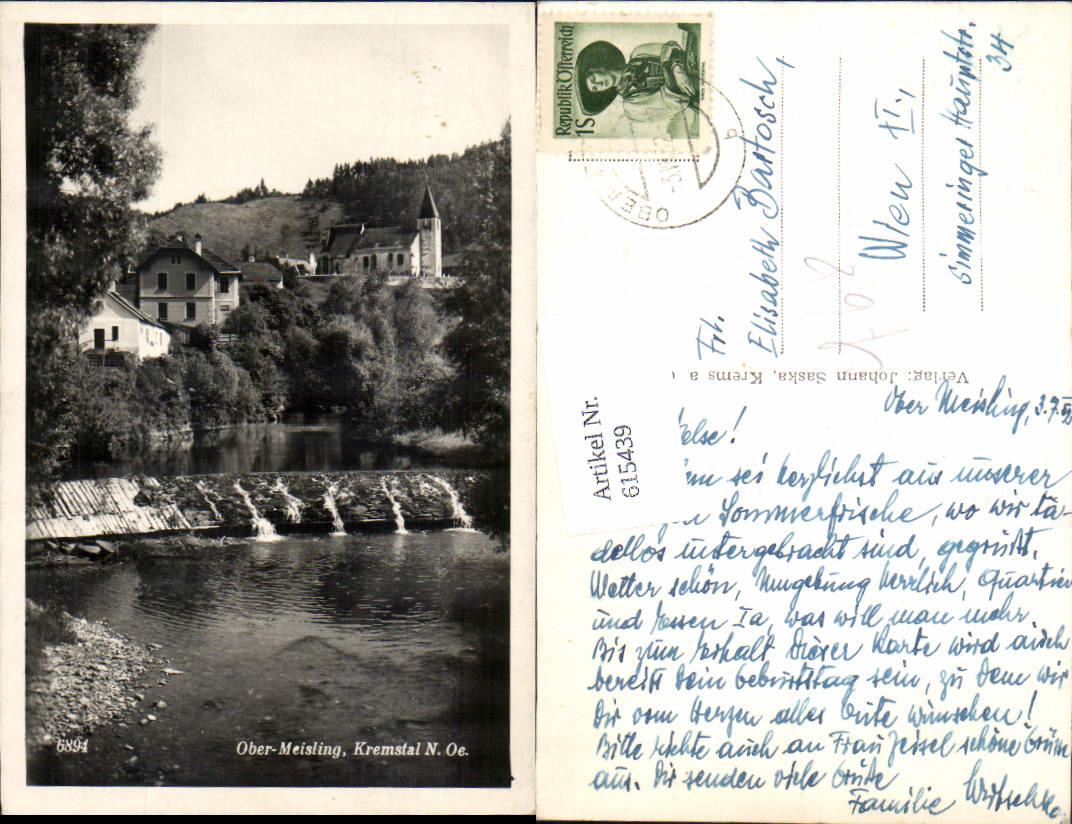 615439,Ober-Meisling im Kremstal Krems Gföhl Obermeisling