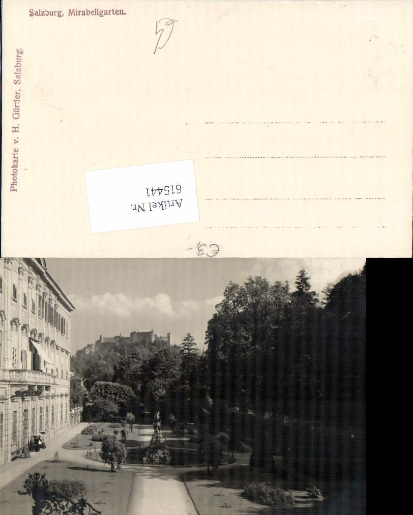 615441,Foto-AK Salzburg Mirabell Mirabellgarten pub Gürtler H.