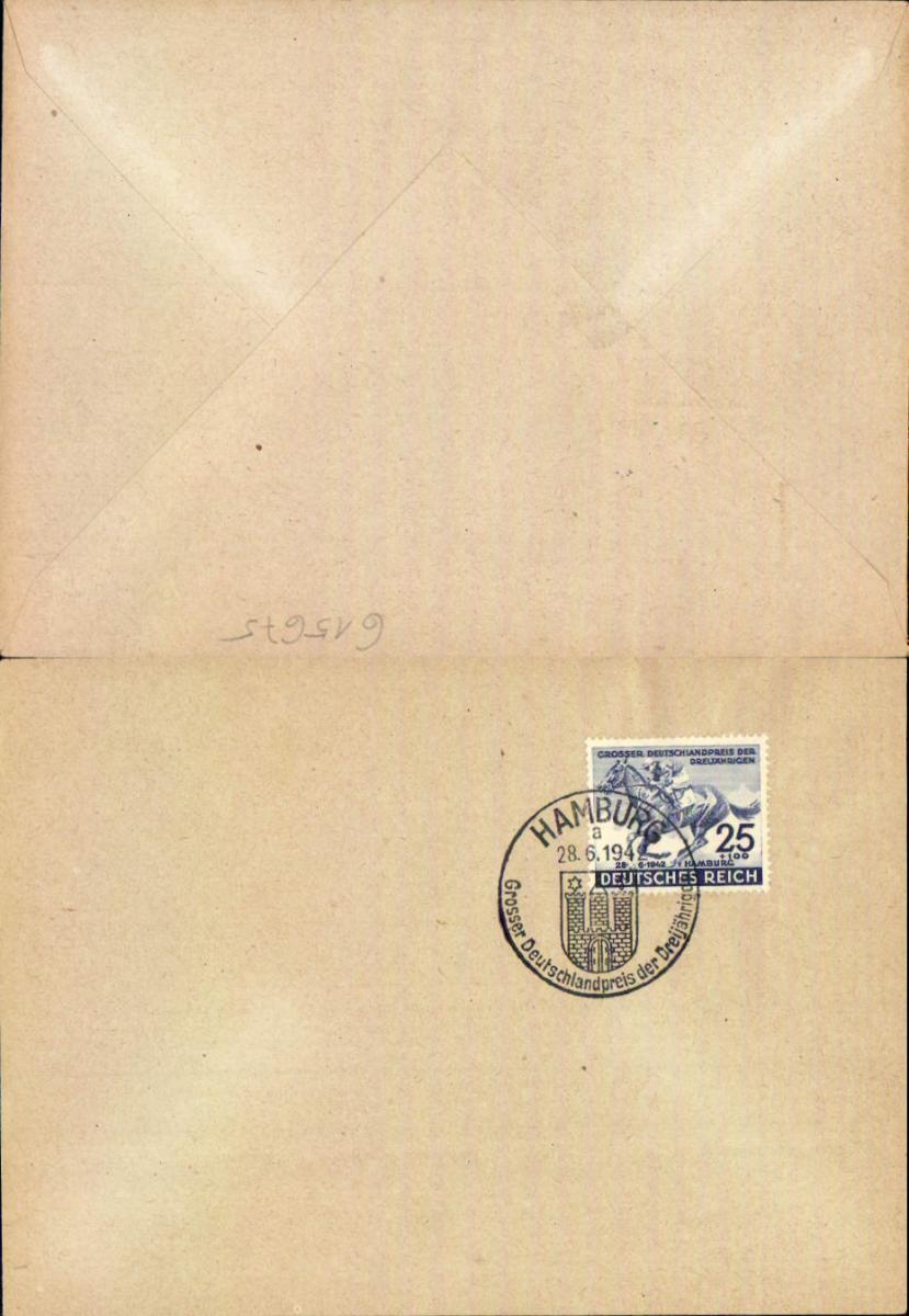 615675,Stempel Brief 1942 Hamburg