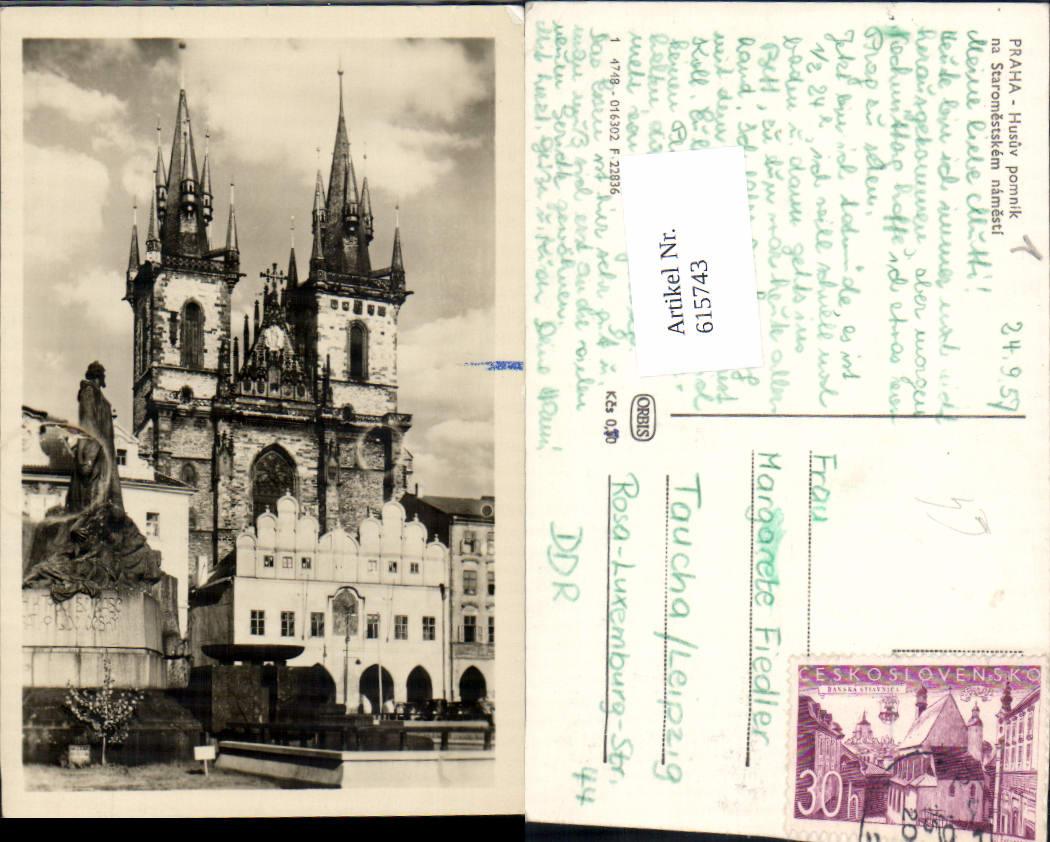 615743,Prag Praha Husuv pomnik
