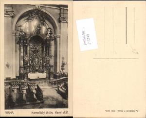 615749,Prag Praha Karmelitsky chram Kirche pub Carl Bellmann 1910-1041