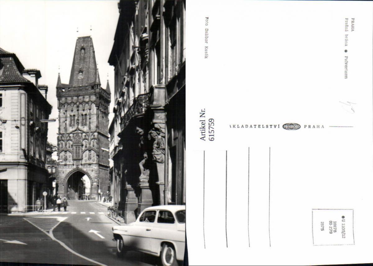 615759,Prag Praha Prasna Brana