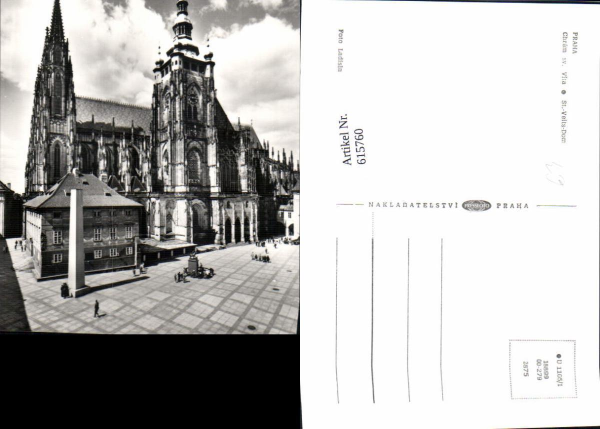 615760,Prag Praha St. Veits Dom