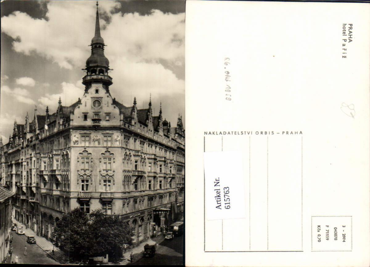 615763,Prag Praha Hotel Pariz