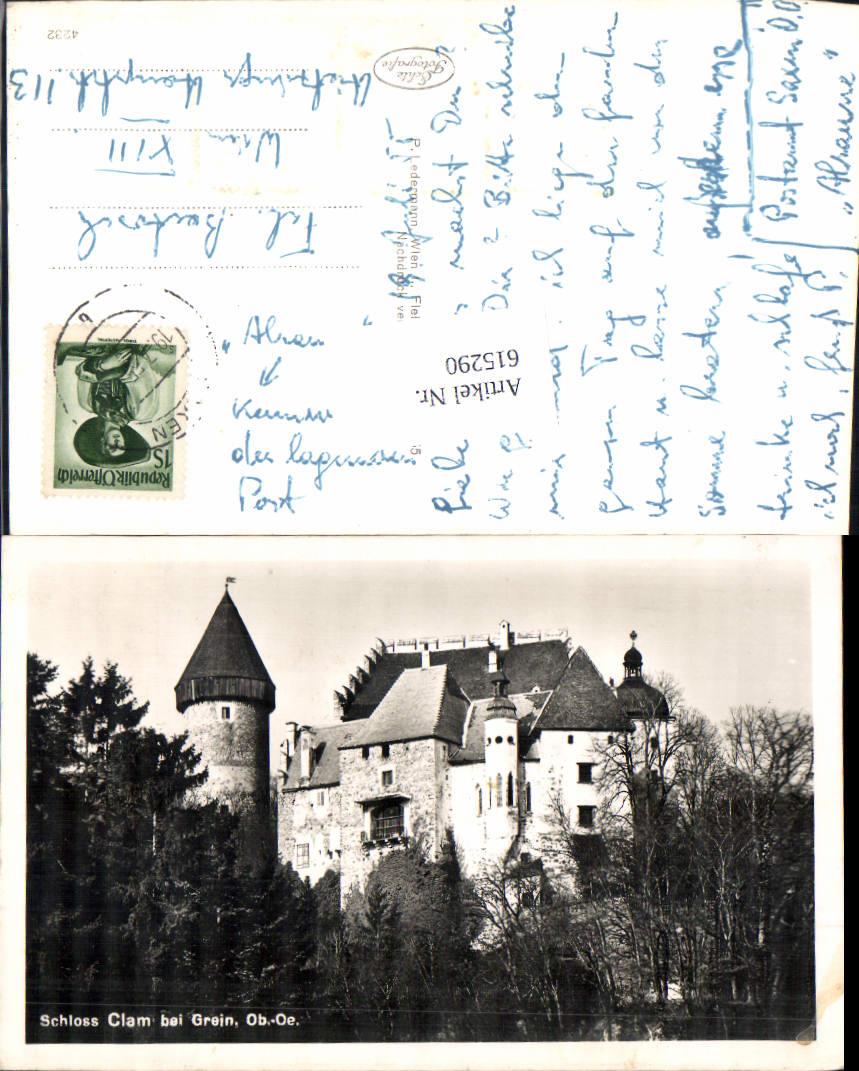 615290,Schloss Clam bei Grein Saxen Klam