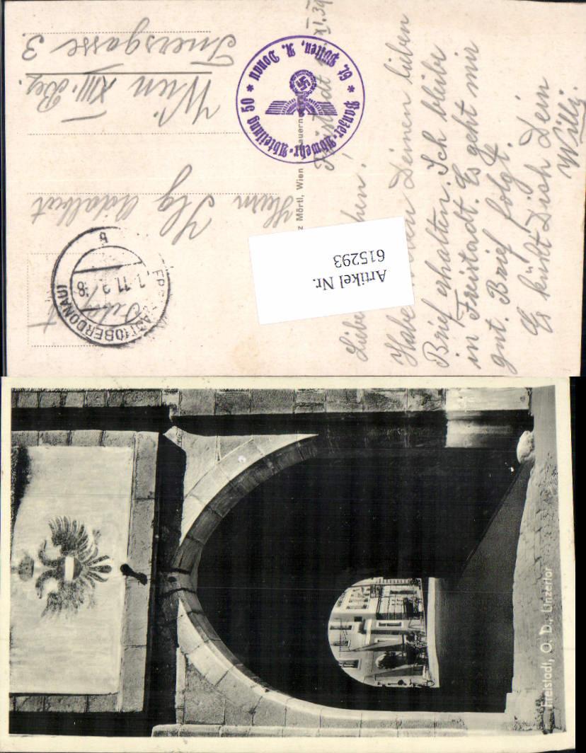 615293,Freistadt Linzertor Feldpost Panzer Abwehr Abteilung 50 St. Pölten