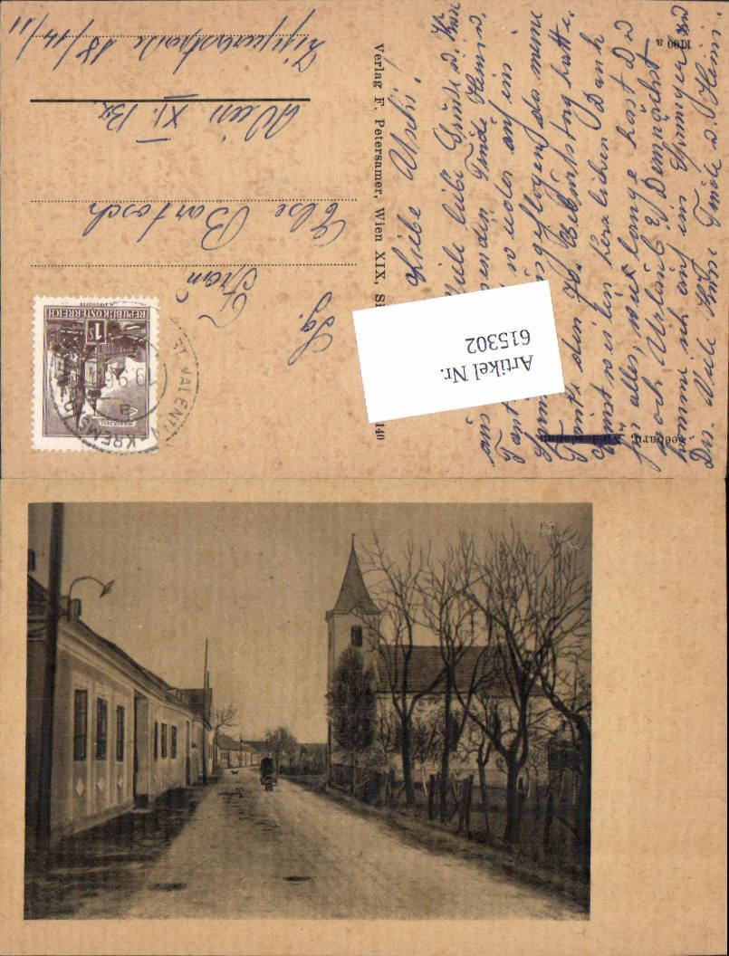 615302,tolle Foto-AK Seebarn am Wagram Tulln Grafenwörth Bahnpost St. Valentin Krems Wien