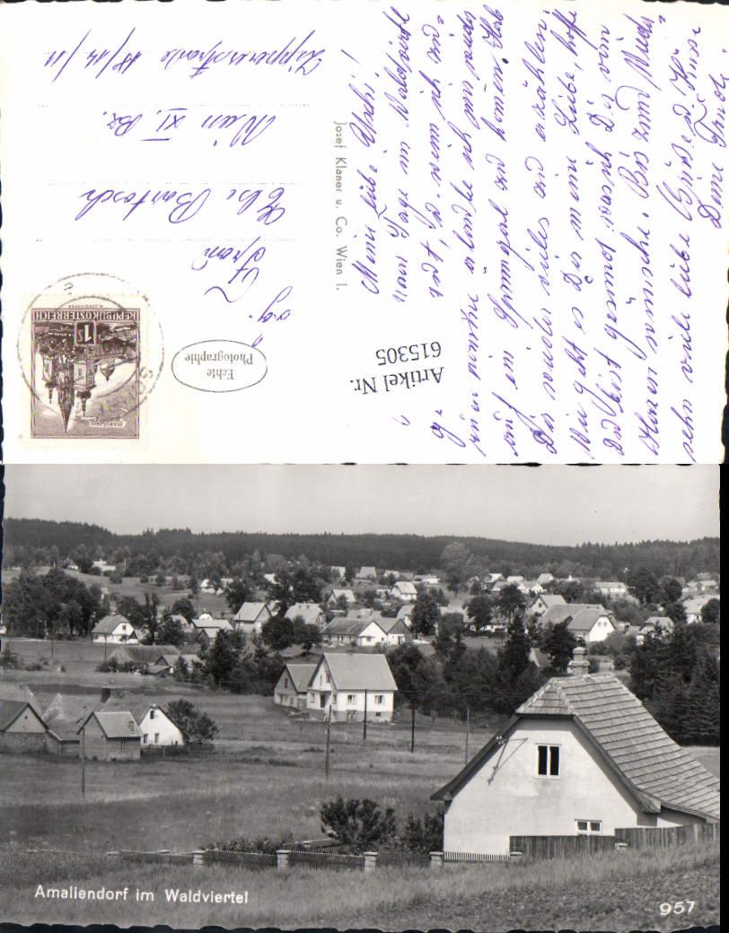 615305,Amaliendorf-Aalfang im Waldviertel bei Gmünd