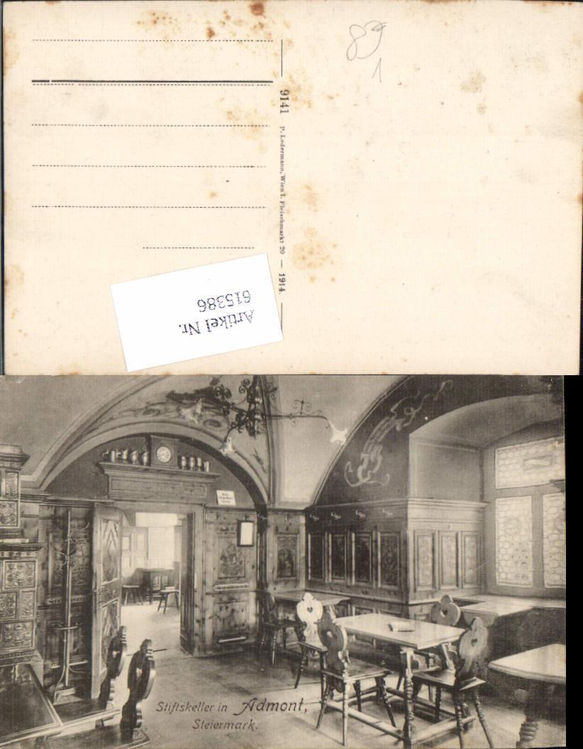 615386,Admont im Gesäuse Stiftskeller pub Ledermann 9141
