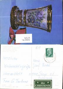 617379,Stempel Christkindl nach Steyr