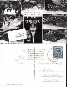 617382,Stempel Ausstellung Salzburg Alte Schatzkammer n. Erkeren Antwerpen