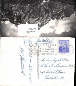 617383,Stempel Olympia 1964 Innsbruck n. Lorsch Hessen