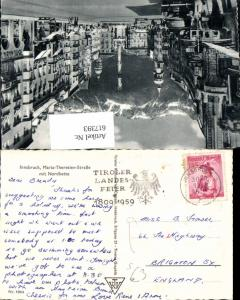 617393,Stempel Tiroler Landesfeier 1959 Innsbruck n. Brighton England Sussex