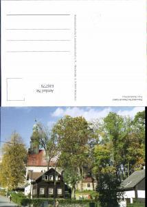 616779,Petrovice Petersdorf b. Deutsch Gabel Jablonne v Podjestedi Ansicht m. Kirche