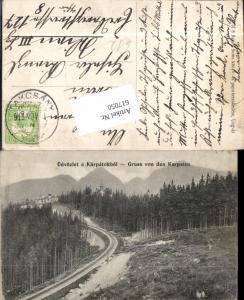 617050,Gruss aus den Karpaten Romania Rumänien Takcsany