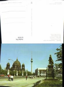 617079,Berlin Marx-Engels-Brücke Brücke Fernsehturm
