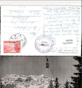 482045,Schwanden Seilbahn Kies-Mettmen Bergkulisse Kt Glarus
