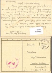 601189,WK 2 Feldpost 13048 Stalingrad n. Berlin Biesdorf Marzahn Hellersdorf Russland