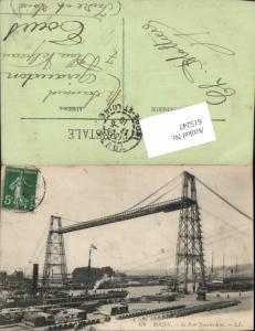 615247,Technik Rouen Le Pont Transbordeur Schwebefähre Kran