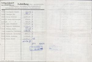 615311,A. Gerngroß Wien Neubau Rechnung 1956