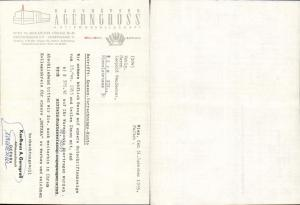 615313,A. Gerngroß Wien Neubau Rechnung 1955