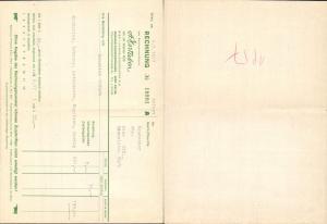 615315,A. Gerngroß Wien Neubau Rechnung 1957