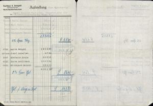 615318,A. Gerngroß Wien Neubau Rechnung 1951