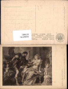 617469,Künstler Ak Peter Paul Rubens Ajax u. Kassandra pub J. Löwy 188