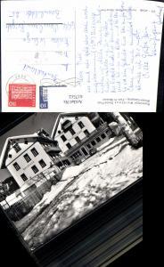 617512,Foto Ak Davos Platz Restaurant Waldhaus VW Käfer Waldhaus-Stübli Winteransicht