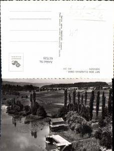617539,Foto Ak Seengen Aargau See Badehaus Badeanlage