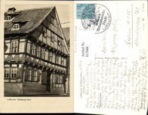 617666,Foto Ak Stolberg i. Harz Südharz Gasthaus Kupfer