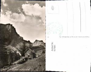 617691,Foto Ak Musau Otto-Mayr-Hütte m. Gimpel u. Schartschrofen