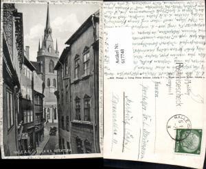 617748,Halle Saale Blick n. d. Roten Turm