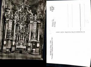 617830,Foto Ak Worms a. Rhein Hochaltar Altar Kirche