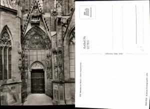 617831,Foto Ak Worms a. Rhein Dom Hauptportal