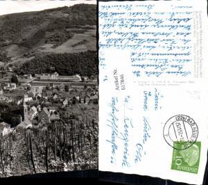 617846,Foto Ak Dernau a. d. Ahr Weinberg Wein