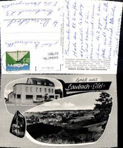617891,Mehrbild Ak Laubach Eifel Gasthaus u. Pension Klemens