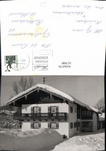 617898,Foto Ak Inzell Haus Pension im Winter
