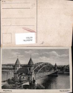 617911,Magdeburg Nordbrücke Brücke