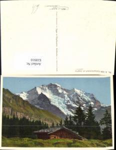 618910,Gebirgslandschaft m. Jungfrau b. Wengen