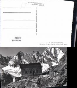 618912,Foto Ak Guttannen Lauteraarhütte Lauteraar-Hütte Lauteraarhörner