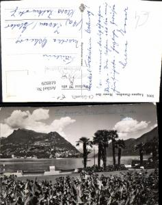 618929,Foto Ak Lugano Lugano Paradiso Monte Bre