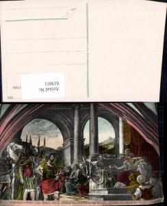 619011,Wandgemälde Hans Bock Rathaus Basel Herodes v. König Hyrcanus