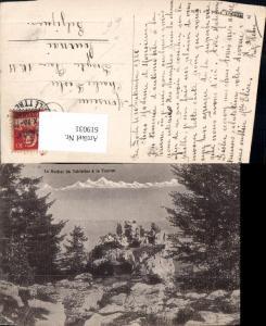 619031,Foto Ak Le Rocher de Tablettes a La Tourne Les Ponts-de-Martel Montmollin