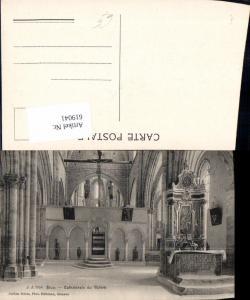 619041,Sion Sitten Cathedrale de Valere Kirche Innenansicht