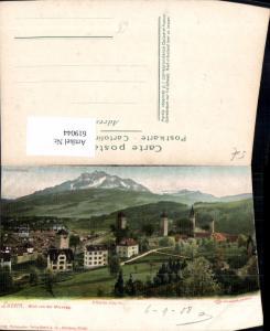 619044,Luzern Blick v. d. Musegg Pilatus