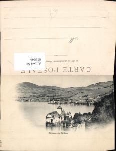 619046,Veytaux Chateau de Chillon