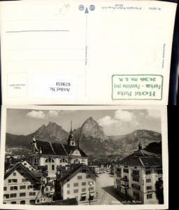 619059,Foto Ak Schwyz u. d. Mythen