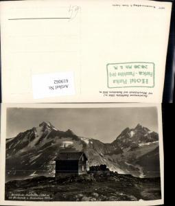 619062,Foto Ak Meien Wassen Sustenpass Sustlihütte m. Fleckistock u. Sustenhorn